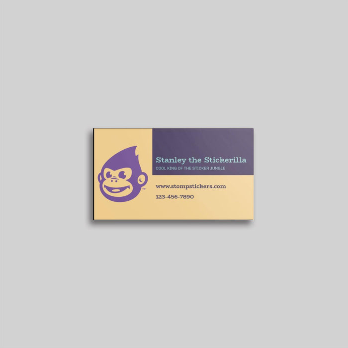Business Card Magnets with Square Corners