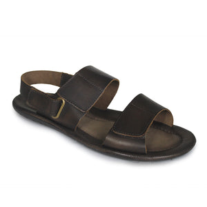 Jovaceli Leather Flat Sandals