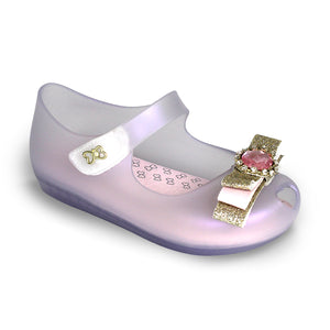 Kids Jelly Flats Sandals