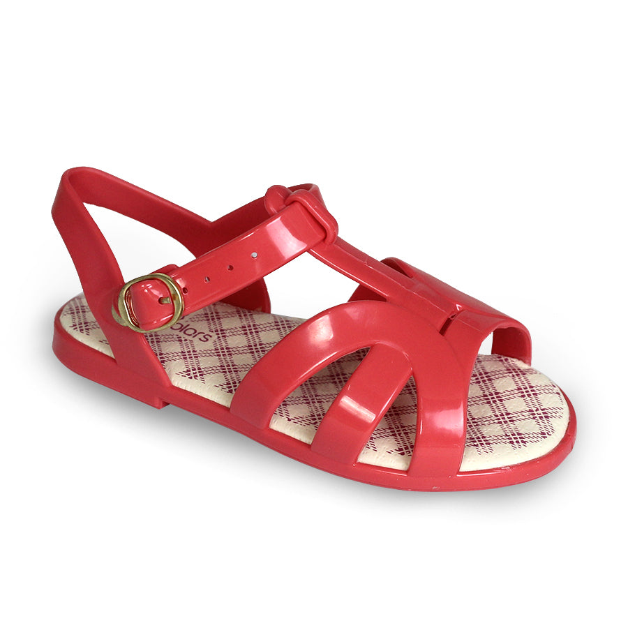 Kids Jelly Flat Sandals