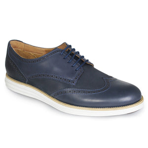 Suede Leather Brogue Oxford Shoes