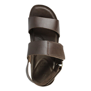 Andacco Leather Flat Sandals