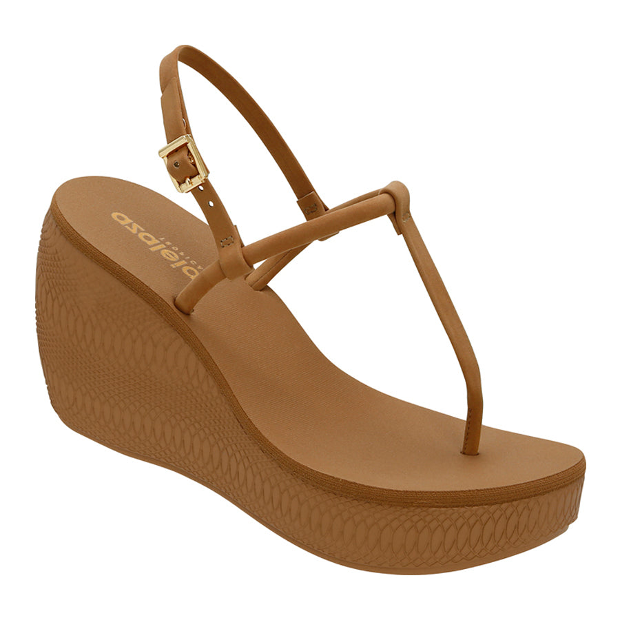 Azaleia Slip-On Wedge Sandals