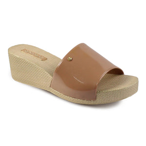 Azaleia Wedge Slide Sandals