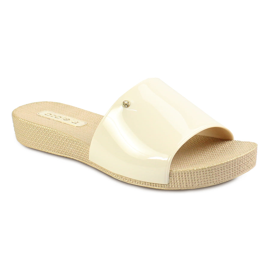 Azaleia Slip-On Flat Slide Sandals