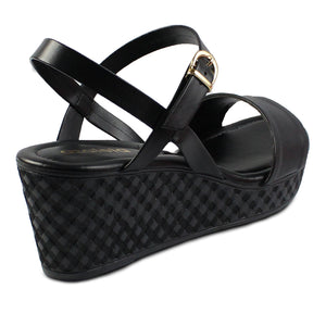 Azaleia Ankle Strap Wedge Sandals