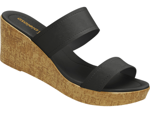 Azaleia Slide Wedge Sandals