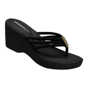 Azaleia Thong Wedge Sandals