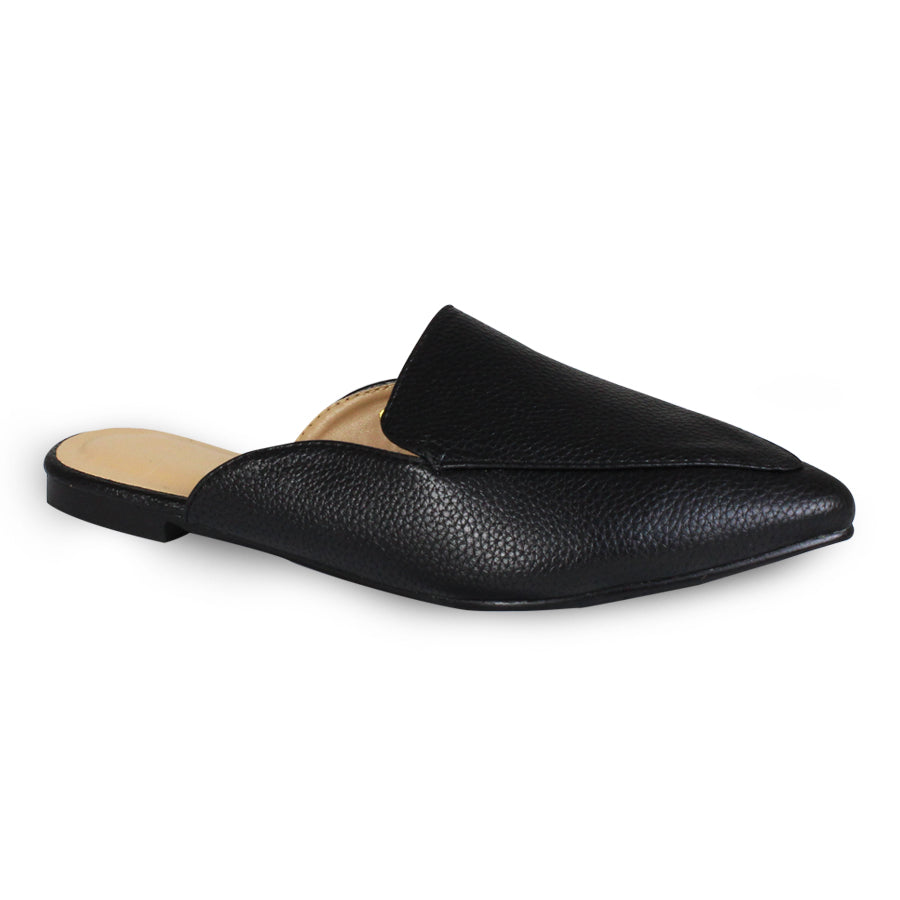G&G Pointed Toe Flat Mules