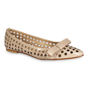 G&G Perforated Ballet Flats