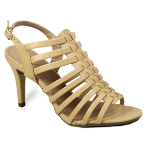 Strappy High Heeled Sandals