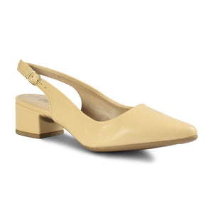 Pointed Toe Slingback Heel Pumps