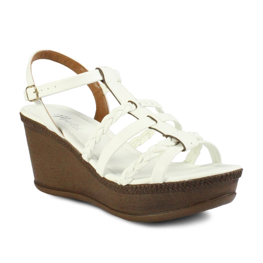 Mia's Closet Women's Wedge Sandals OMC 7312-52171