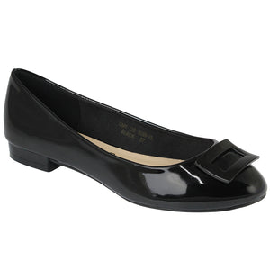 G&G Almond Toe Ballet Pumps