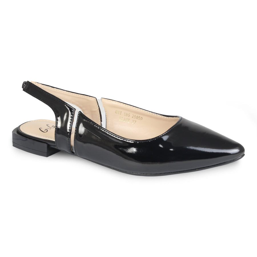 G&G Pointed Toe Slingback Pumps