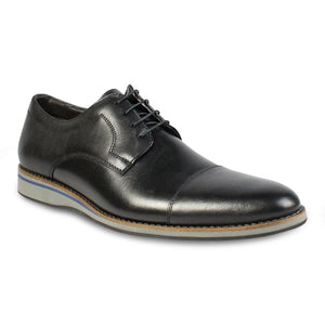 Cap Toe Oxford Lace-Up Shoes
