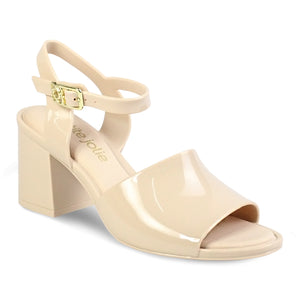 Petite Jolie Ankle Strap Heeled Sandals