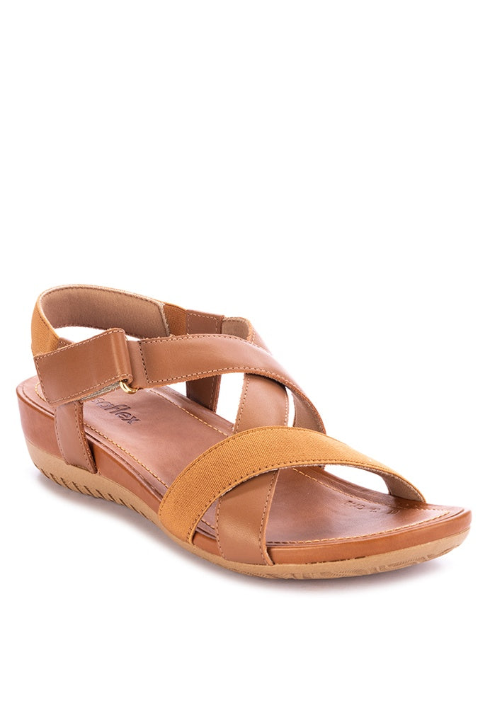 Usaflex Strappy Wedge Sandals