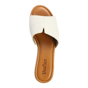 Usaflex Wedge Slide Sandals