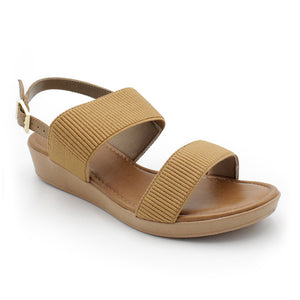 Usaflex Slingback Wedge Sandals