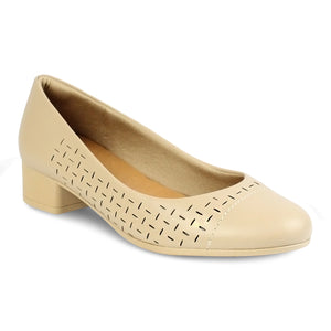 Usaflex Almond Toe Heel Pumps