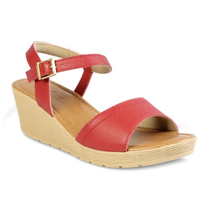 Usaflex Ankle Strap Wedge Sandals