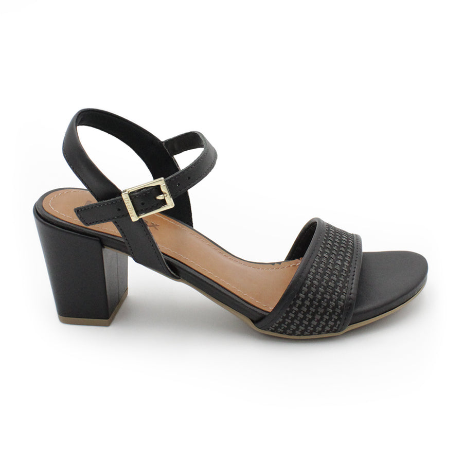 Usaflex Ankle Strap Heeled Sandals