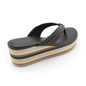 Usaflex Thong Wedge Sandals
