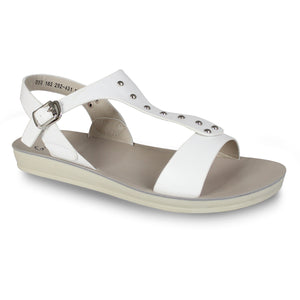 G&G Ankle Strap Flat Sandals
