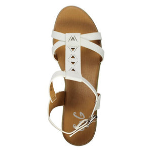 G&G Ankle Strap Wedge Sandals