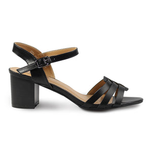 G&G Ankle Strap Heeled Sandals