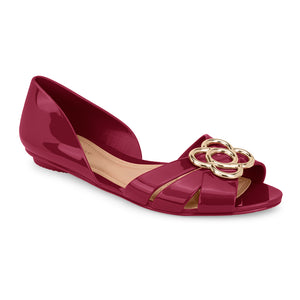 Petite Jolie Slip-On Flat Sandals