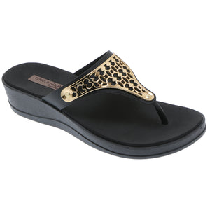 Thong Wedge Sandals