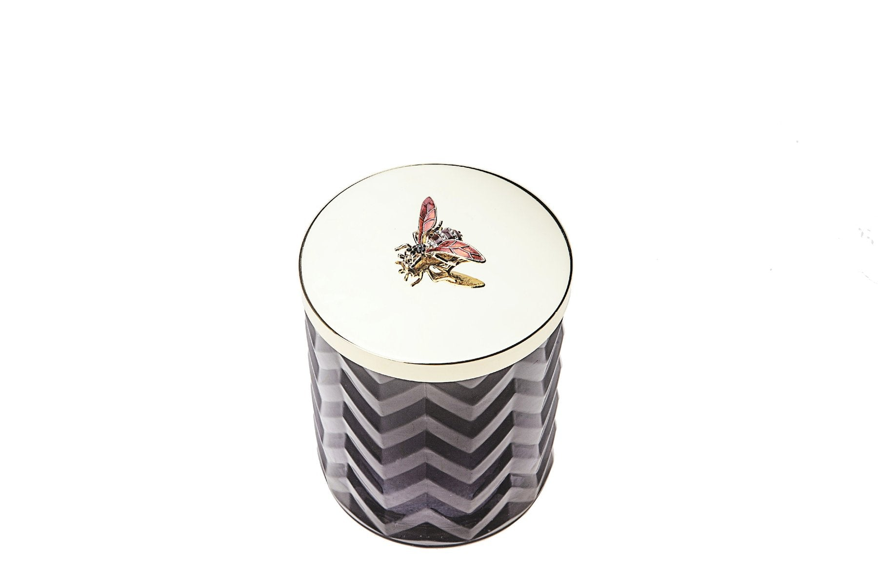 COTE NOIR Black Herringbone Candle