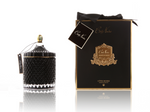 COTE NOIR Grand Black Art Deco Candle