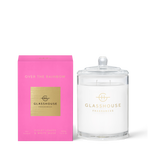 GLASSHOUSE FRAGRANCE Over The Rainbow 380g Candle