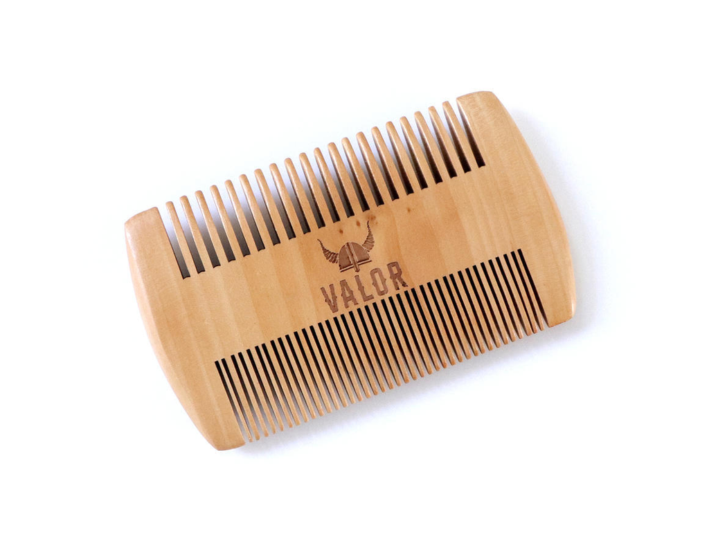 SHAVE WITH VALOR Beard Comb