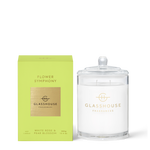 GLASSHOUSE FRAGRANCES Flower Symphony 380g Soy Candle