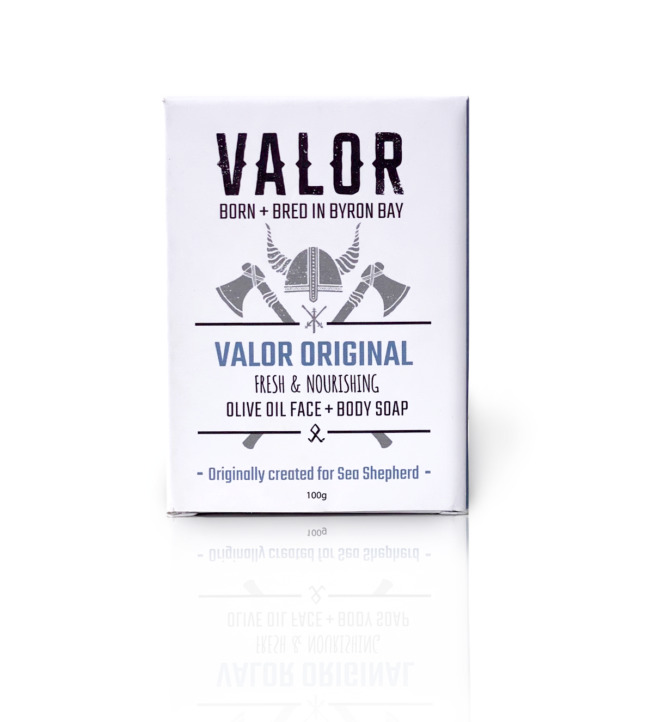 SHAVE WITH VALOUR Soap (Original) 100g