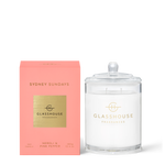 GLASSHOUSE FRAGRANCES Sydney Sundays 380g Candle
