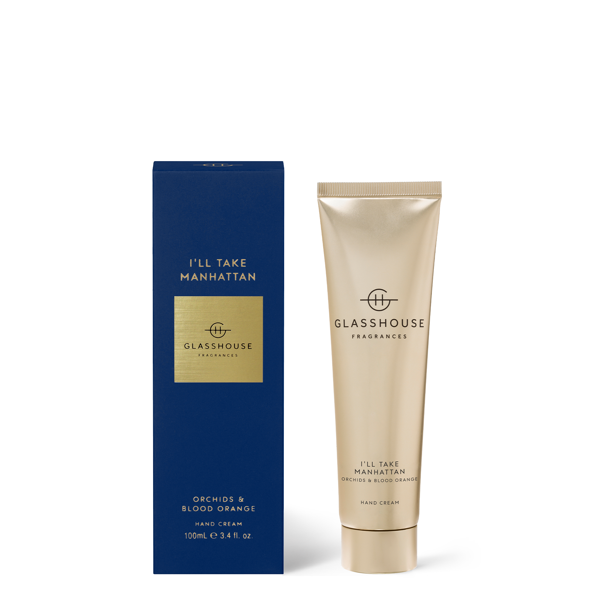 GLASSHOUSE FRAGRANCES I'll Take Manhattan Hand Cream 100ml