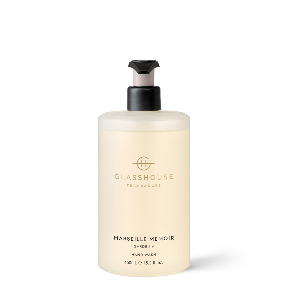 GLASSHOUSE FRAGRANCES Marseille Memoir Hand Wash 450ml