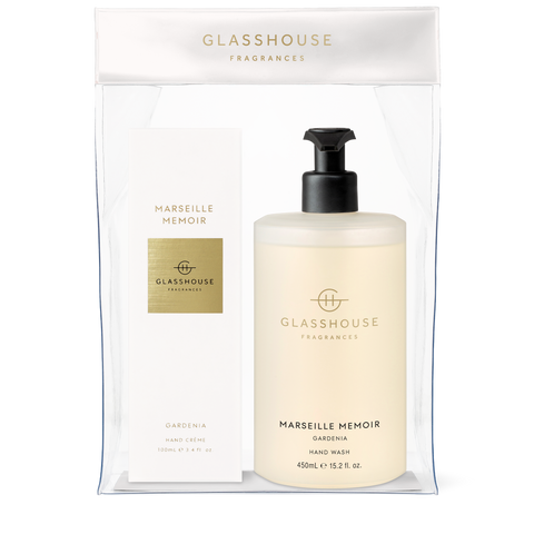 GLASSHOUSE FRAGRANCES Marseille Memoir Hand Duo Gift Set