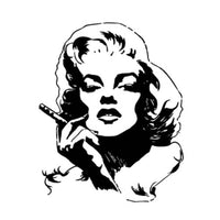 Tatouage éphémère Marilyn pour femme et homme tatouage temporaire faux tatoo fake autocollant provisoire décalcomanie non permanent tatouage éphémère tattoo ephemere
