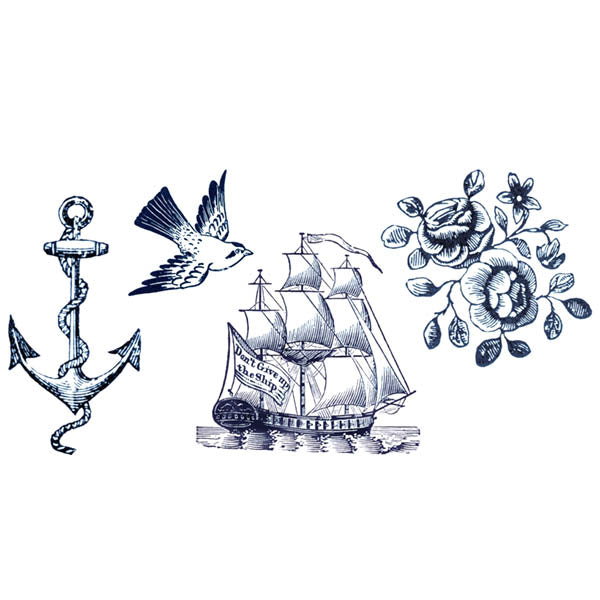 tatouage ephémère ancre marine, bateau, mouette Tattoo-Ephemere éphémère temporaire tatouages temporaires ephemère faux tatouage malabar décalcomanie decalcomanie decalco éphémères tatoo tatoo