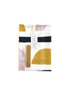 Tea Towel & Cocktail Straw Gift Set: Sunset