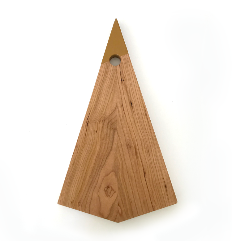 Pendant Charcuterie Board - Painted Cherry