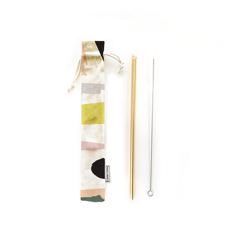 Reusable Straws 3 piece Set - Let's Party