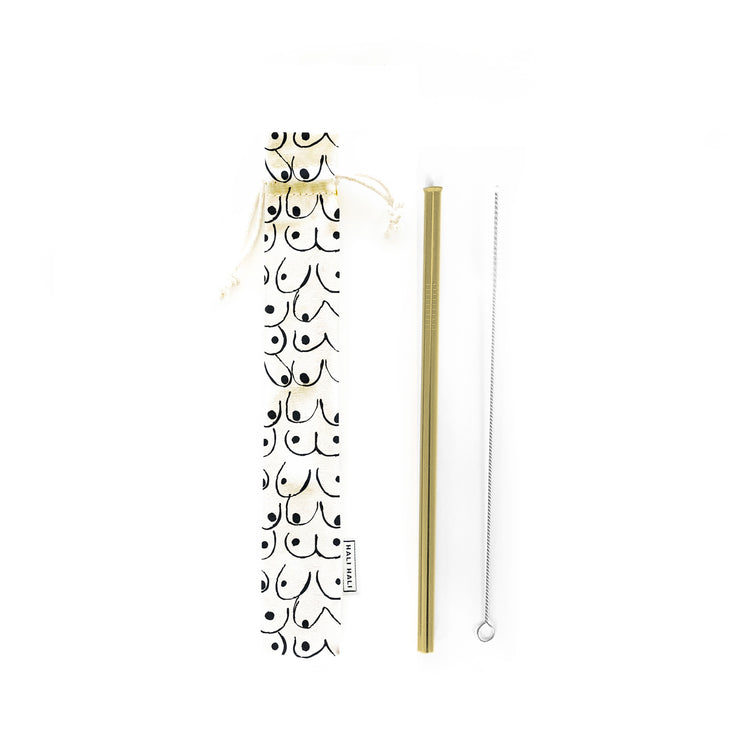 Reusable Straws 3 piece Set - Love Your Body