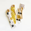 Eco Friendly 6 pc Reusable Cutlery Pouch - Stop & Stare